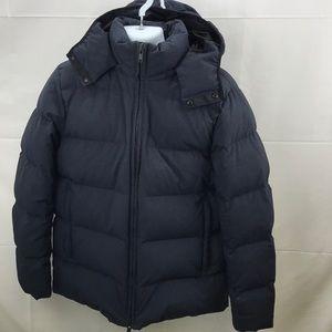 Theory men's xl blue winter jacket
